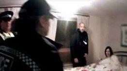 فیلم و ماجرای دستگیری سارا روی تخت خواب