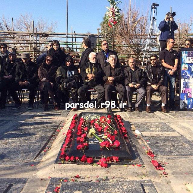 عکس های مراسم چهلم مرتضی پاشایی
