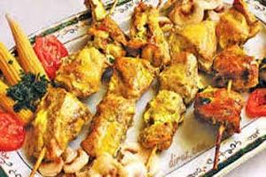 غذای رژیمی جوجه کباب رژیمی