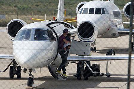 اخبار,اخبار ورزشی,هواپیمای کریستیانو رونالدو