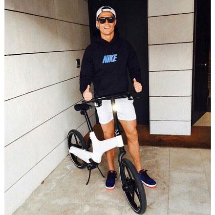 اخبار,اخبار ورزشی,دوچرخه کریستیانو رونالدو