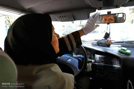 اخبار,اخبار فرهنگی ,خانم بازیگری که راننده تاکسی شد