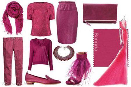 ست رنگی شیک مناسب فصل پاییز برای خانم ها (تصویری)