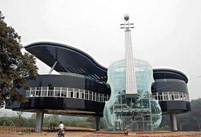 ساختمان های عجیب در جهان (۱۰ عکس)