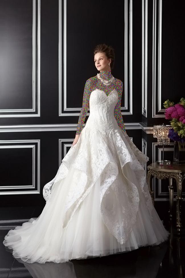 Hotnaz com   42a38802127d91c9bde0e6f67e98f5041 شیک ترین لباس عروس های 2014