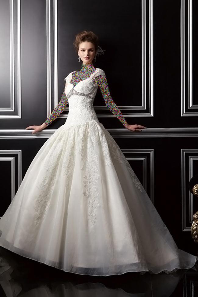 Hotnaz com   f106d37d0ba960f7c03ecfae0ce32d6a1 شیک ترین لباس عروس های 2014