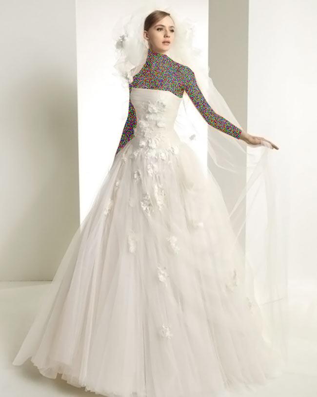 Hotnaz com   f437144a529c908b4de5cb6adb1b5cb41 شیک ترین لباس عروس های 2014