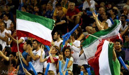 والیبالیست ها ایران با همسرانشان در جشن بازی های آسیایی  (تصویری)