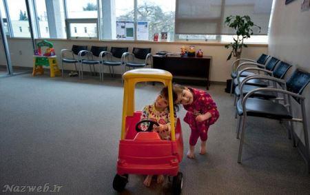 عکس های دیدنی دو خواهر دوقلو با یک مغز مشترک!! جلل الخالق