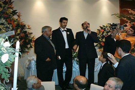 گران ترین ازدواج یک فوتبالیست در ایران + عکس