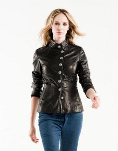 جدیدترین مدل های متنوع کت و پالتو چرم زنانه