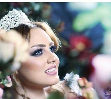 جدیدترین آرایش عروس,جدید ترین آرایش,آرایشهای جدید عروس