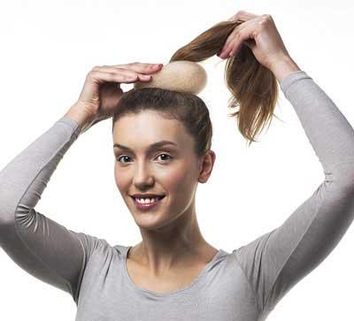 کلیپس و گل سر,جمع کردن مو, بستن محکم مو
