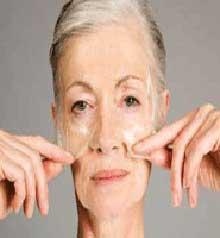 چین و چروک صورت,پوست خشک,ساختار پوست