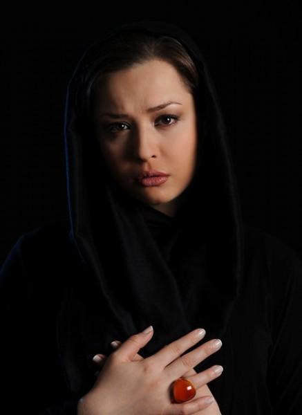 انگشتر عقیق مهراوه شریفی نیا