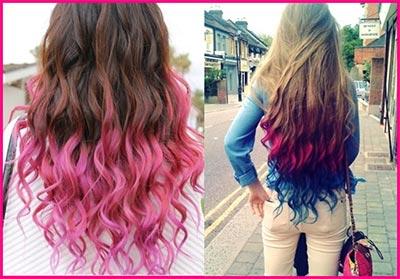گچ رنگ مو موقت,گچ مو,گچ رنگی برای مو