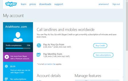 ساخت اکانت در اسکایپ, ثبت نام در اسکایپ, نرم افزار Skype