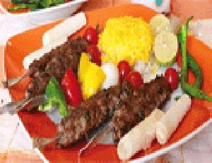 آشپزی کباب کوبیده زعفرانی