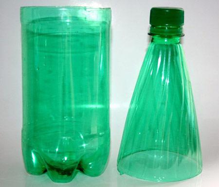 آموزش ساخت لوستر, ساخت لوستر با بطری