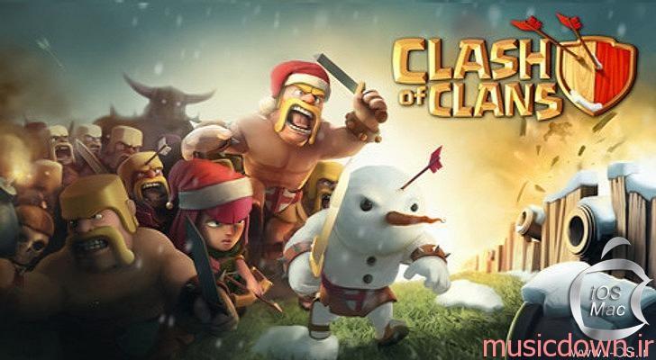 i41428 ClashofClansGamePoster کد تقلب جدیدترین ورژن بازی Clash of Clans
