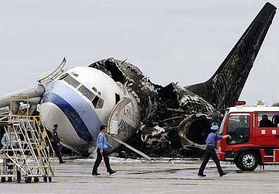 سقوط هواپیما,زنده مادند در سقوط هواپیما