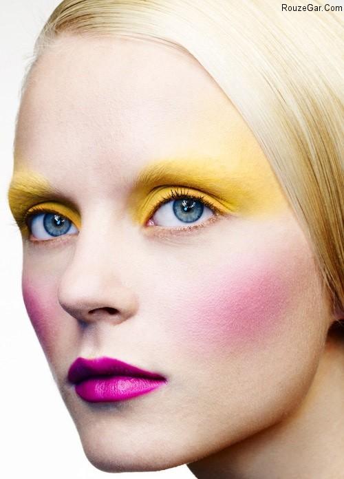 جدیدترین مدل آرایش صورت و میکاپ صورت 2015