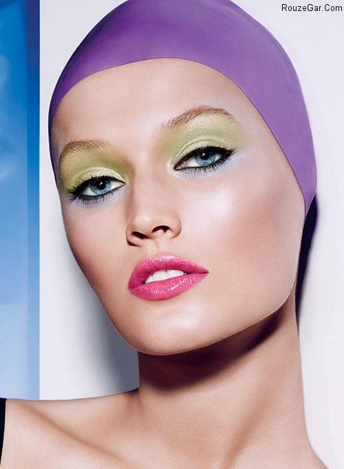 مدل آرایش ۲۰۱۵ میکاپ و آرایش چشم سایه چشم ۲۰۱۵