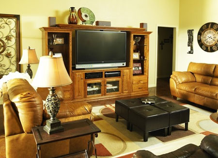 نحوه صحیح انتخاب میز تلویزیون,میز تلویزیون شیک و مدرن