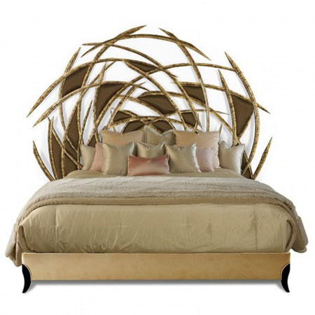 شیک ترین تخت های چوبی,دکوراسیون تخت