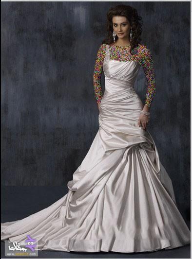 مدل لباس عروس جدید,مدل لباس عروس پرنسسی