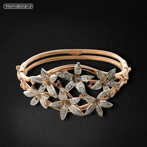 عکس های مدل دستبند زنانه و دخترانه طلا 94 جدید