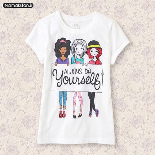 تیشرت دخترانه , مدل تیشرت دخترانه , مدل تیشرت دخترانه 2015