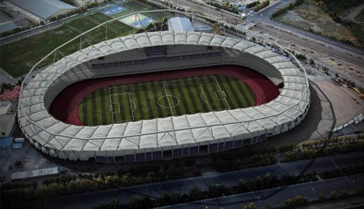 مدرن ترین ورزشگاه ایران  + عکس