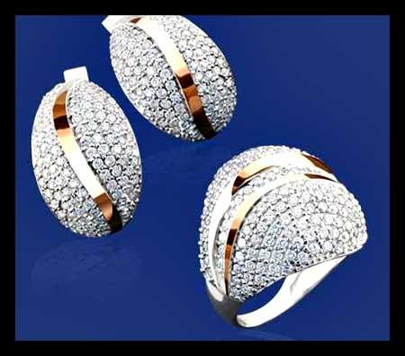 مدل گوشواره جدید,مدل گوشواره حلقه ای,مدل گوشواره دخترانه,مدل گوشواره جواهر