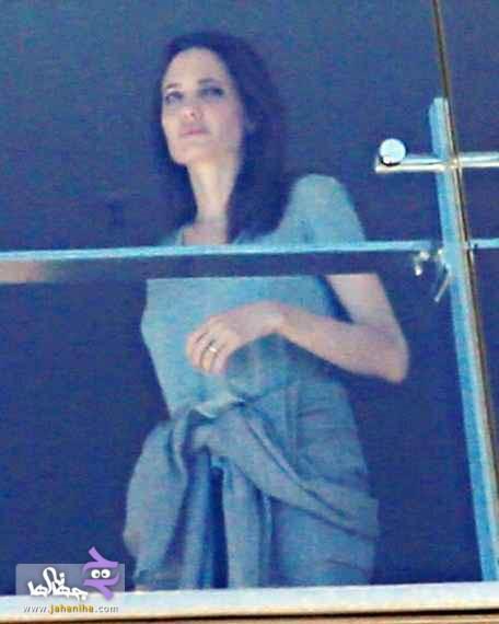 دعوای آنجلینا جولی و لرد پیت,عکسهای لو رفته از دعوای آنجلینا جولی و برد پیت