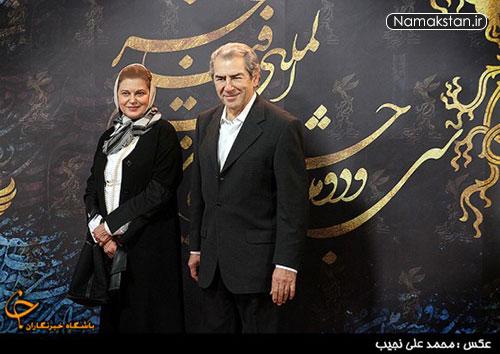 عکس های شخصی فرامرز قریبیان و همسرش , فرامرز قریبیان و همسرش