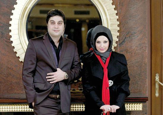 عکسهای جدید نیوشا ضیغمی و همسرش