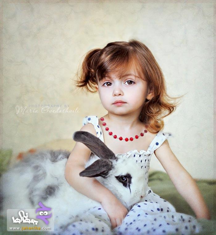 pic55 www.jahaniha.com 1 دختر بچه های خیلی ناز و زیبا+عکس
