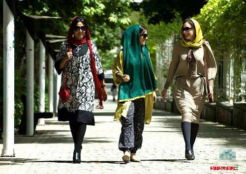 rahafun.com ax saport 1 افزایش دختران ساپورت پوش در تهران!!