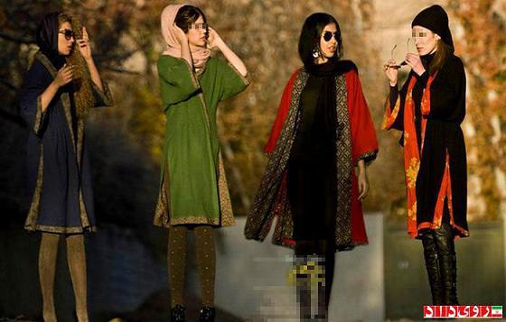 rahafun.com ax saport 2 افزایش دختران ساپورت پوش در تهران!!