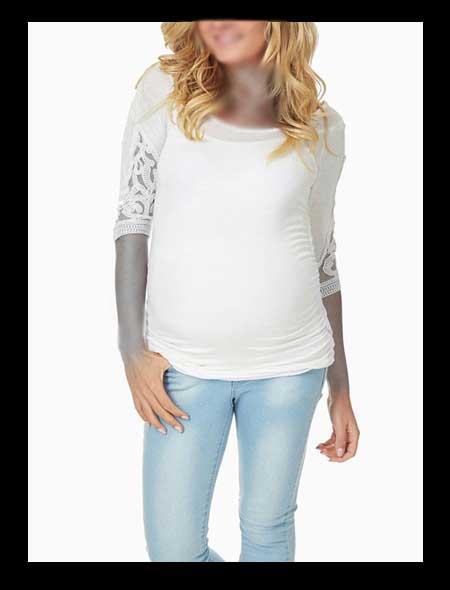 تصویر جدید لباس مجلسی بارداری