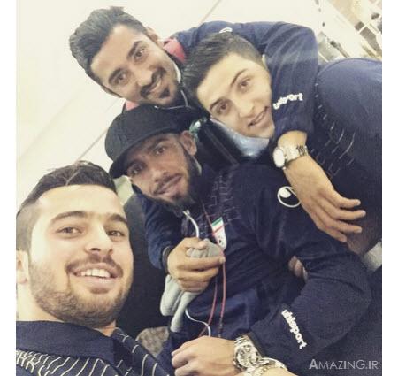 بازیکنان تیم ملی در استرالیا 2015 , عکس بازیکنان تیم ملی فوتبال , جام ملت های آسیا 2015
