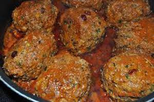 آموزش تهیه و طبخ کوفته تبریزی