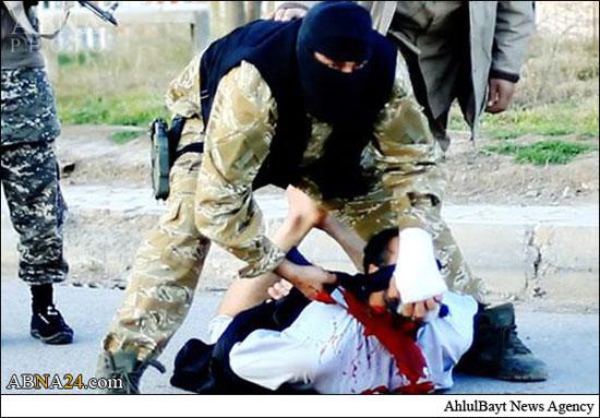 داعش یک عراقی را ذبح کرد