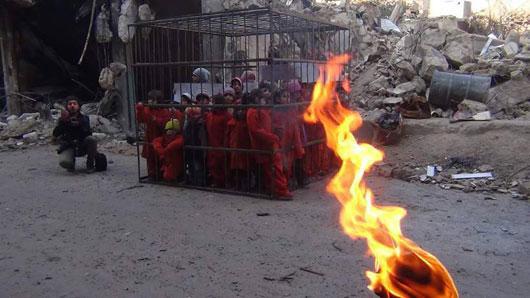 عکس های جنایات داعش علیه کودکان اسیر در توییتر